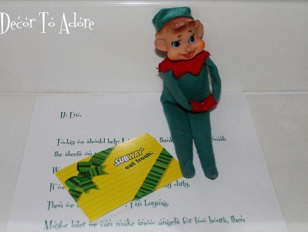 Sweetheart Advent Elves Week 2