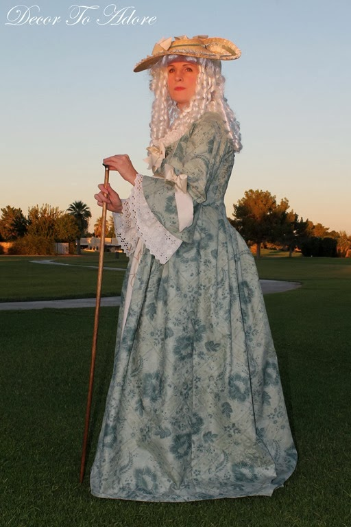 A 18th-Century Dress Sewn For Under $30