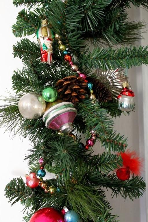 Creating Christmas Tree Garland