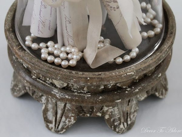 Love Letters, Pearls and Ribbon