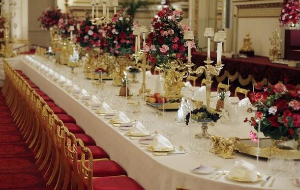 State ballroom dinner