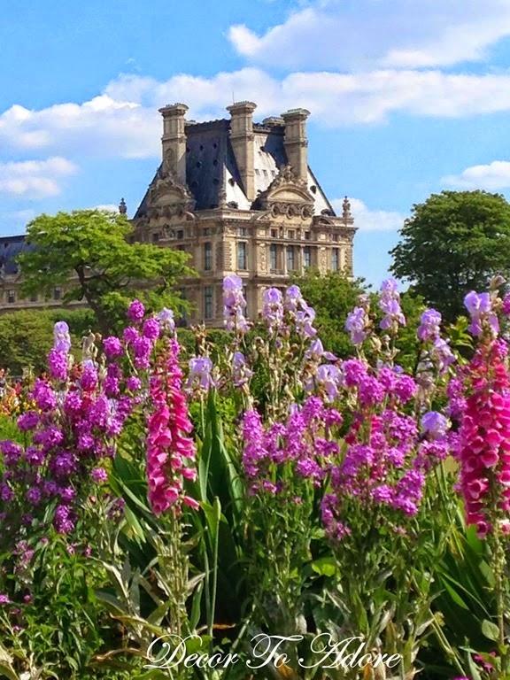 The Gardens Of Paris