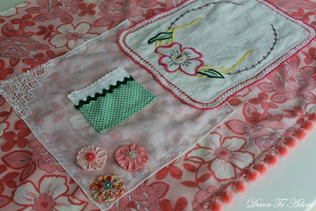 Eleanor's Aprons pink flat view