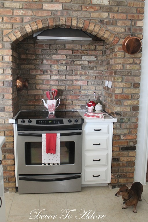 Fall Home Tour 2015 kitchen stove