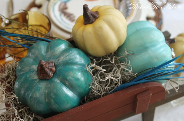 A Fast Refresh for Tired Faux Pumpkins