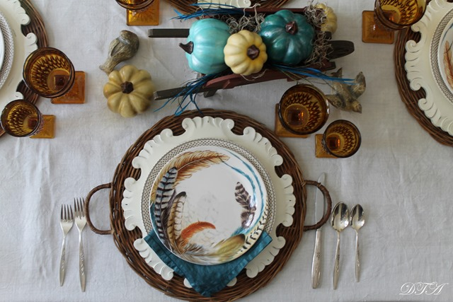 Fall Home Tour 2015 centerpiece