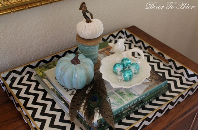 Fall Home Tour 2015 tray