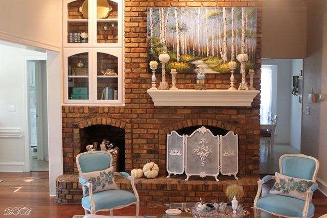 Fall Home Tours 2015 living room