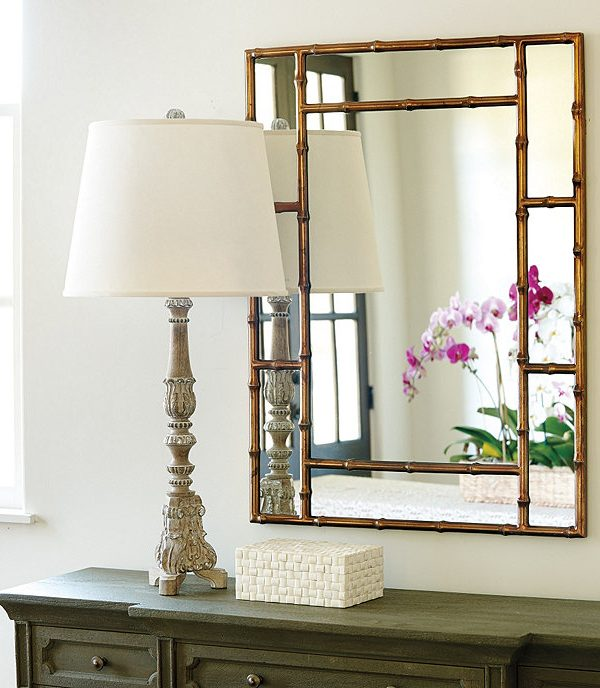 ORC Week 4 A DIY Chinoiserie Mirror and New Lighting for the Old Palm Beach Bathroom