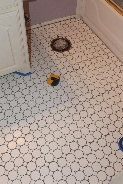 ORC Week 2 Tile Floors for the Old Palm Beach Bathroom