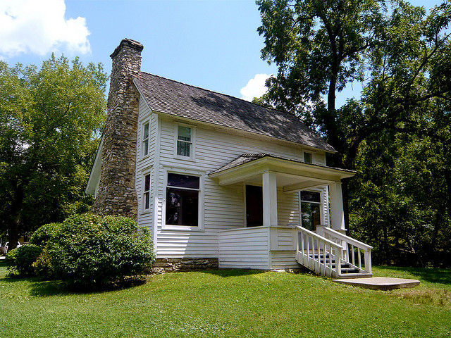 Rocky Ridge farmhouse