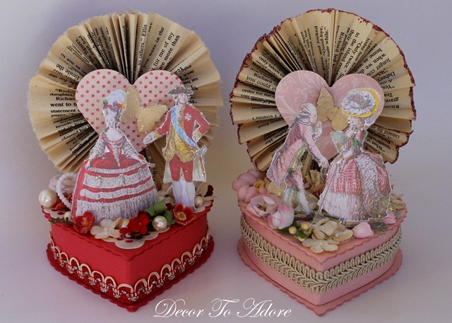 french inspired candy boxes Decor To Adore