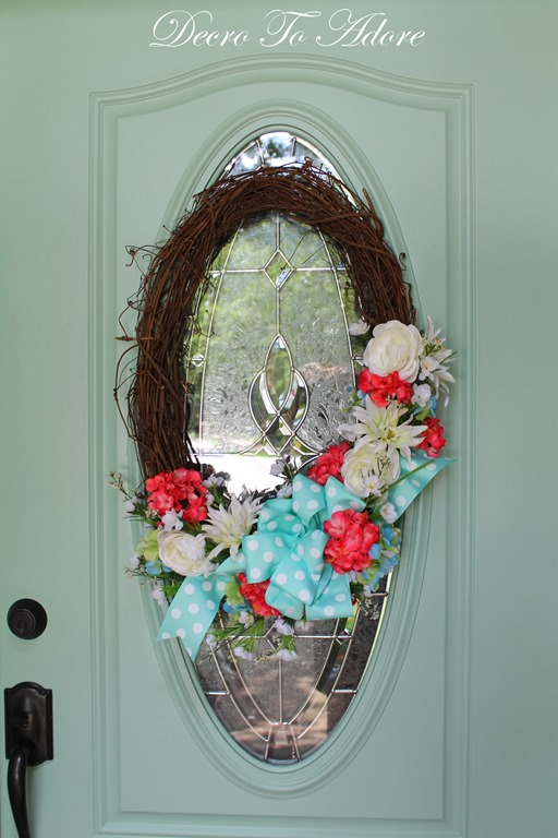 A Sweet Summertime Wreath