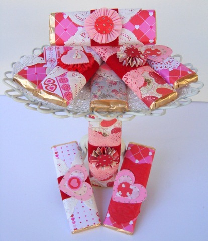 Be My Valentine Chocolate Bars Decor To Adore
