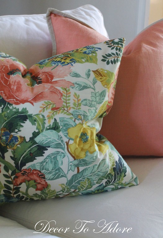 Fall Home Tour 2016 pillows