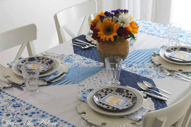 Fall Home Tour 2016 tablescape