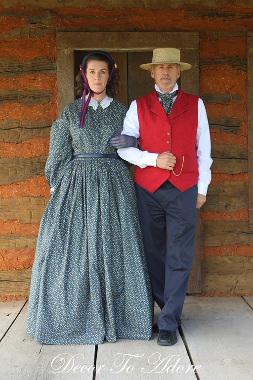 Becoming Laura Ingalls Wilder couple