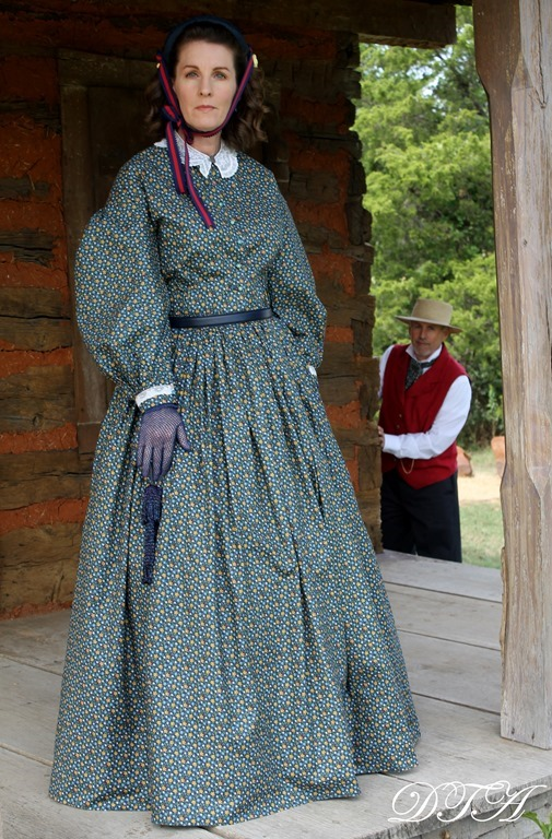 Becoming Laura Ingalls Wilder dress