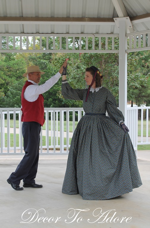 Becoming Laura Ingalls Wilder square dance