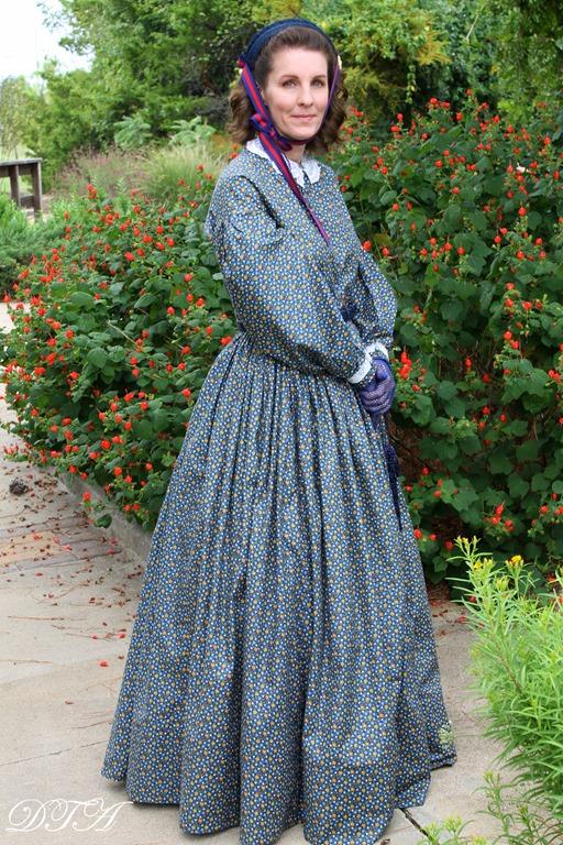 Becoming Laura Ingalls Wilder dress details