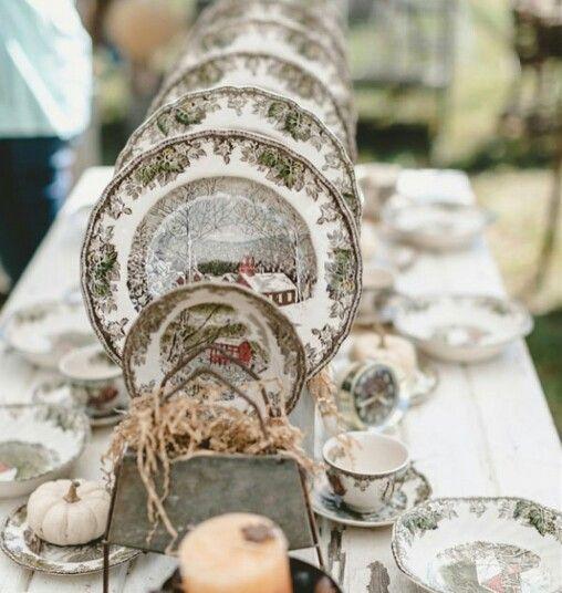 An unexpected thanksgiving table decor to adore for Decor you adore facebook