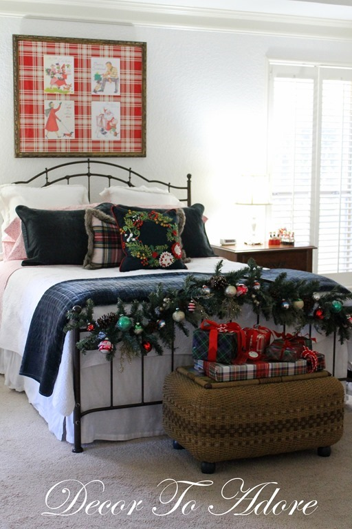 Cozy Christmas Bedroom