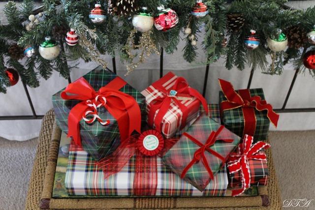 Cozy Christmas 2016 tartans