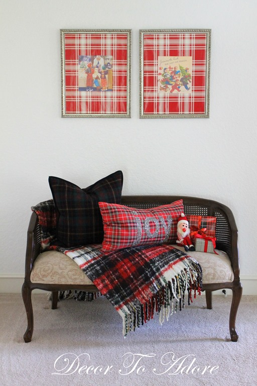 Cozy Christmas 2106 settee