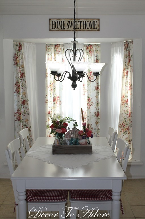Spring Home Tour curtains