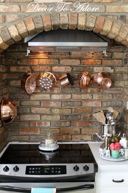 Spring Home Tour pot rack