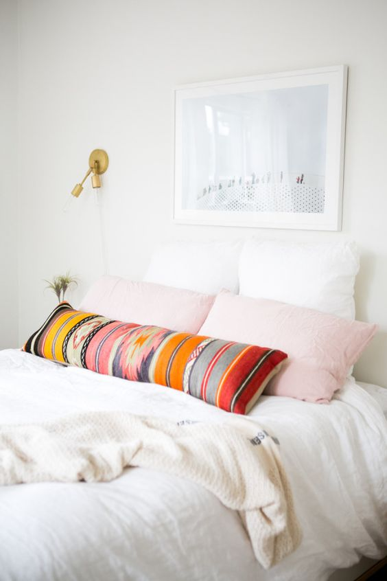 Durrie bolster pillow