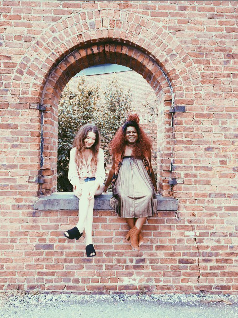 Lou and Sheniece in Brooklyn