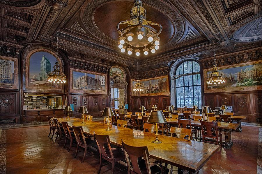 NYPL Periodical Room