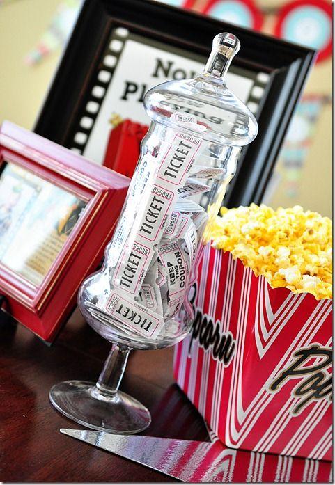 Favorite movie night party ideas decor to adore for Decor to adore