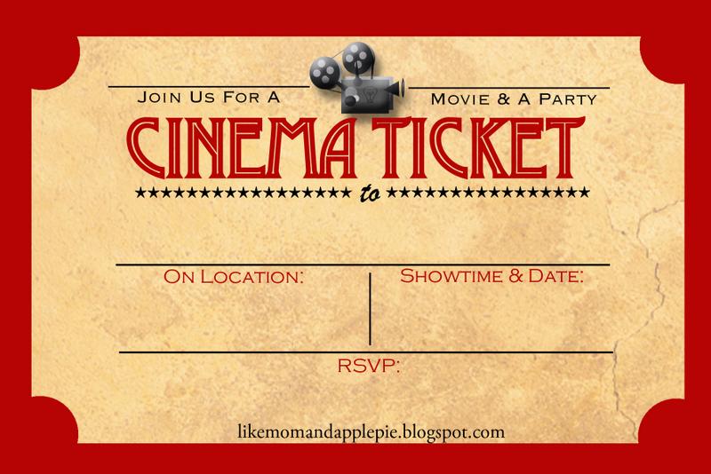 favorite movie night party ideas