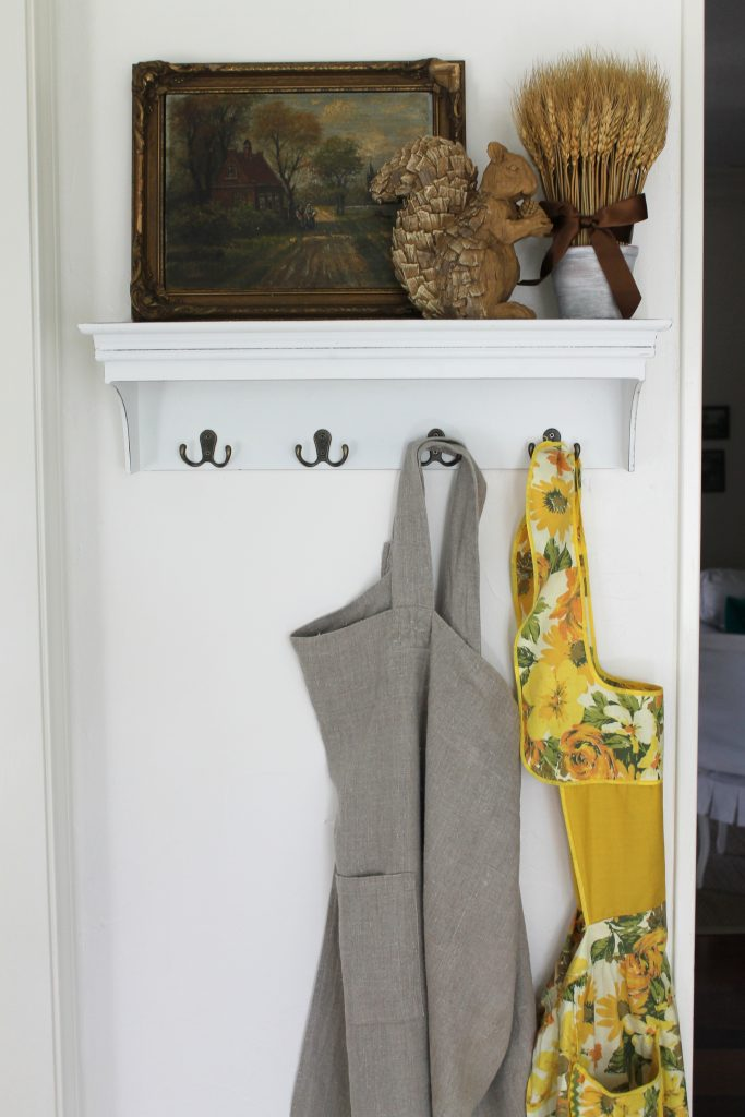 Decor To Adore Fall Home Tour 2017 kitchen aprons