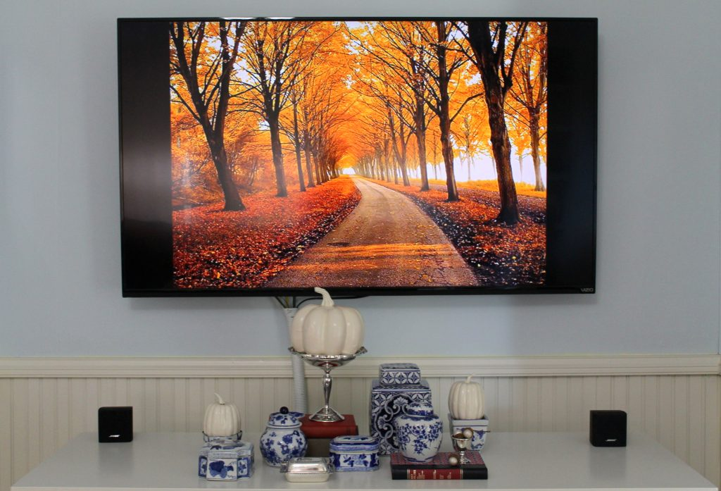 Decor To Adore Fall Home Tour 2017 tv console