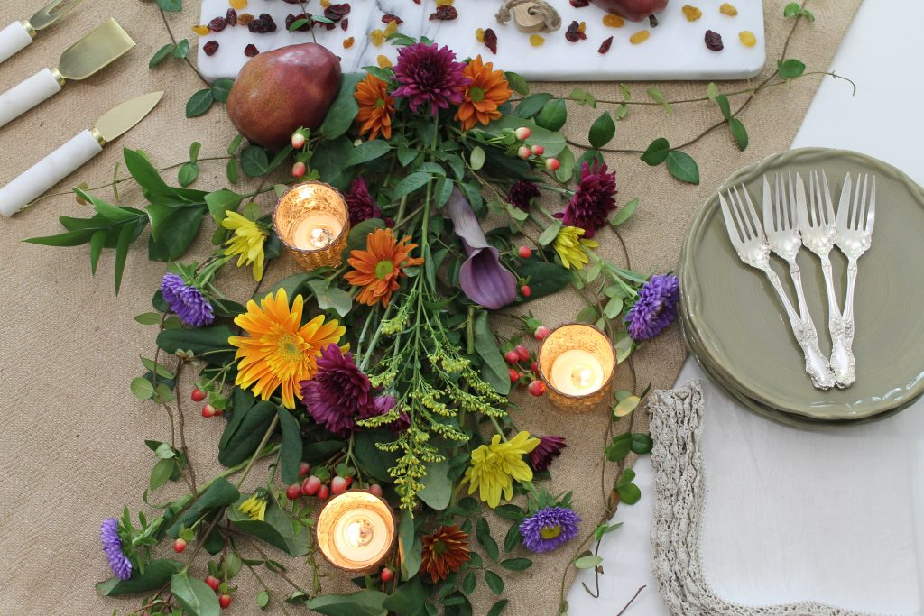 Decor To Adore Fall Home Tour 2017 tablescape