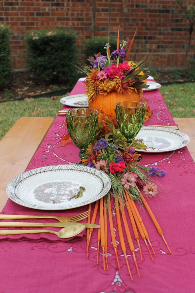 Decor To Adore Storybook Cottage Early Fall Garden fest table
