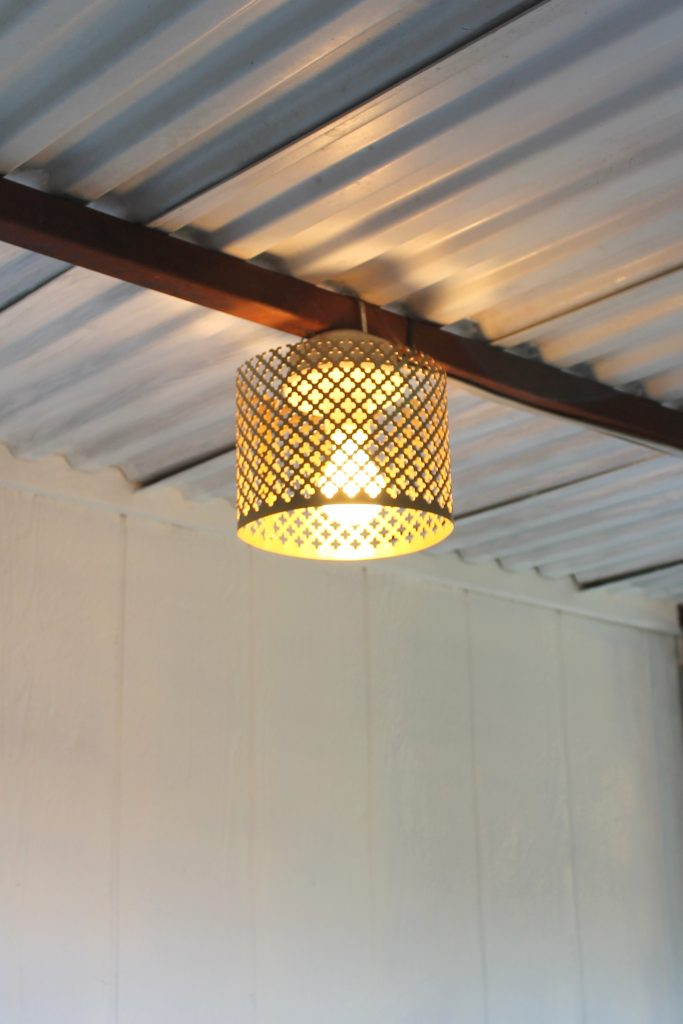 Decor To Adore One Room Challenge Pop Up Shoppe lampshade