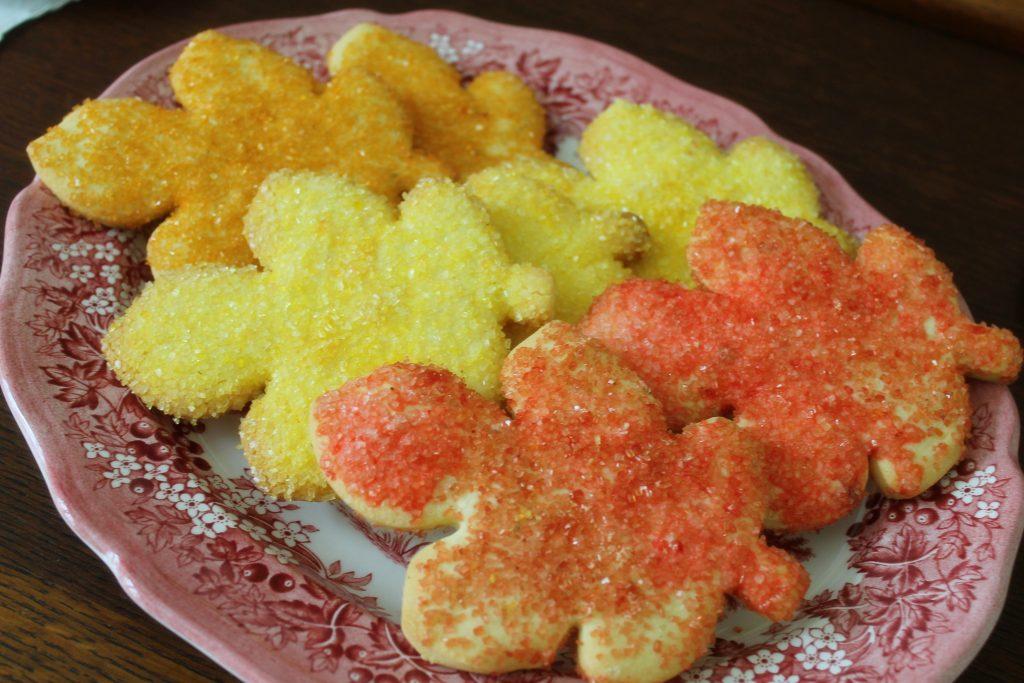 Harvest Tea cookies