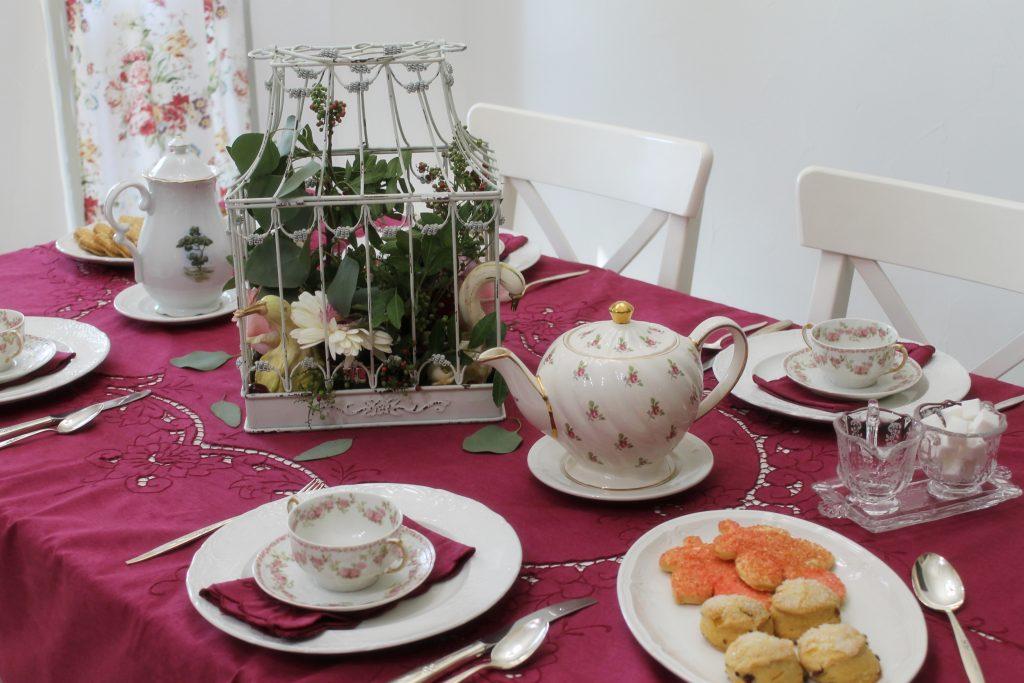 Harvest Tea second table