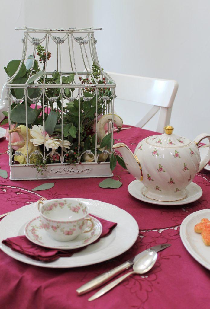 Harvest Tea place setting
