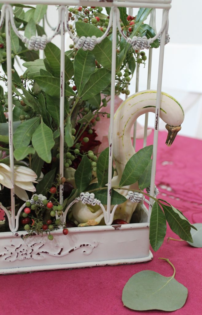 Harvest Tea centerpiece