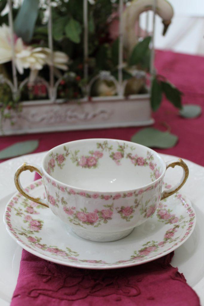 Harvest Tea loving cup