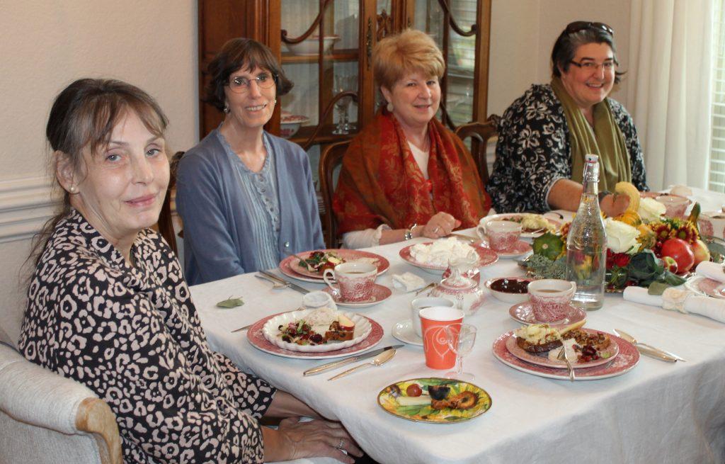 Harvest Tea attendees
