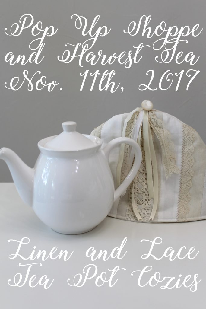 Pop Up Shoppe Sneak Peek tea cozy