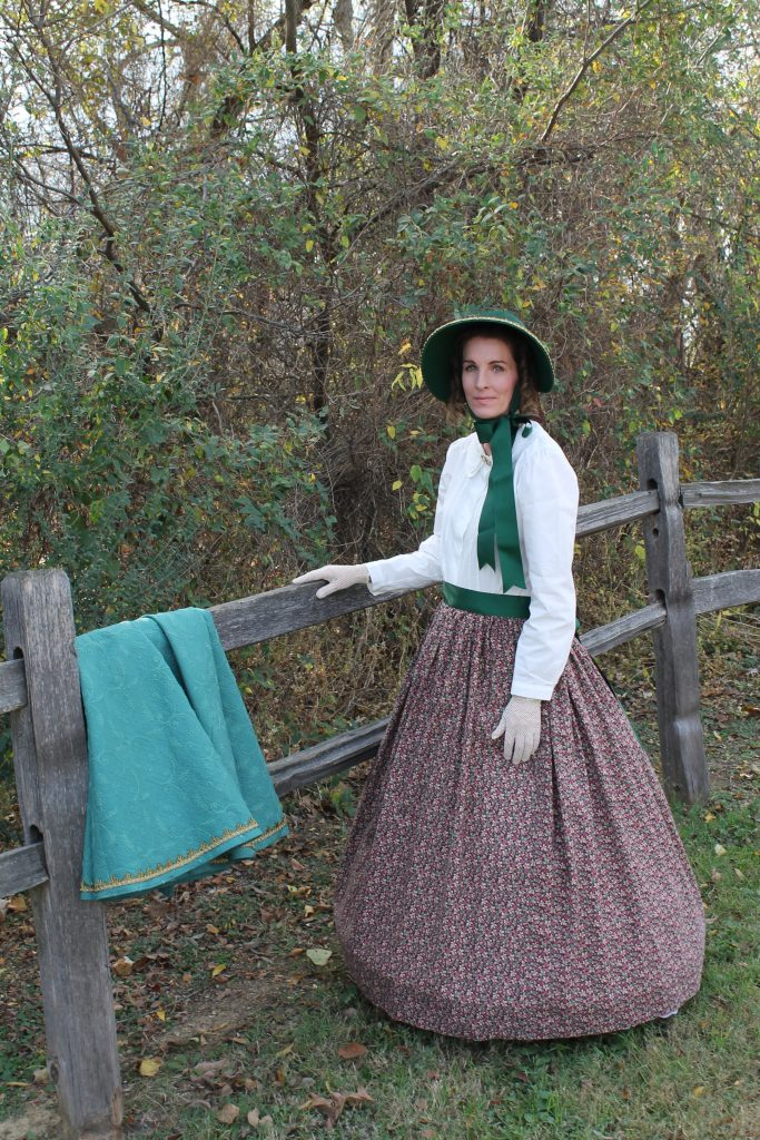 Dickens Cloak and Bonnet clothing