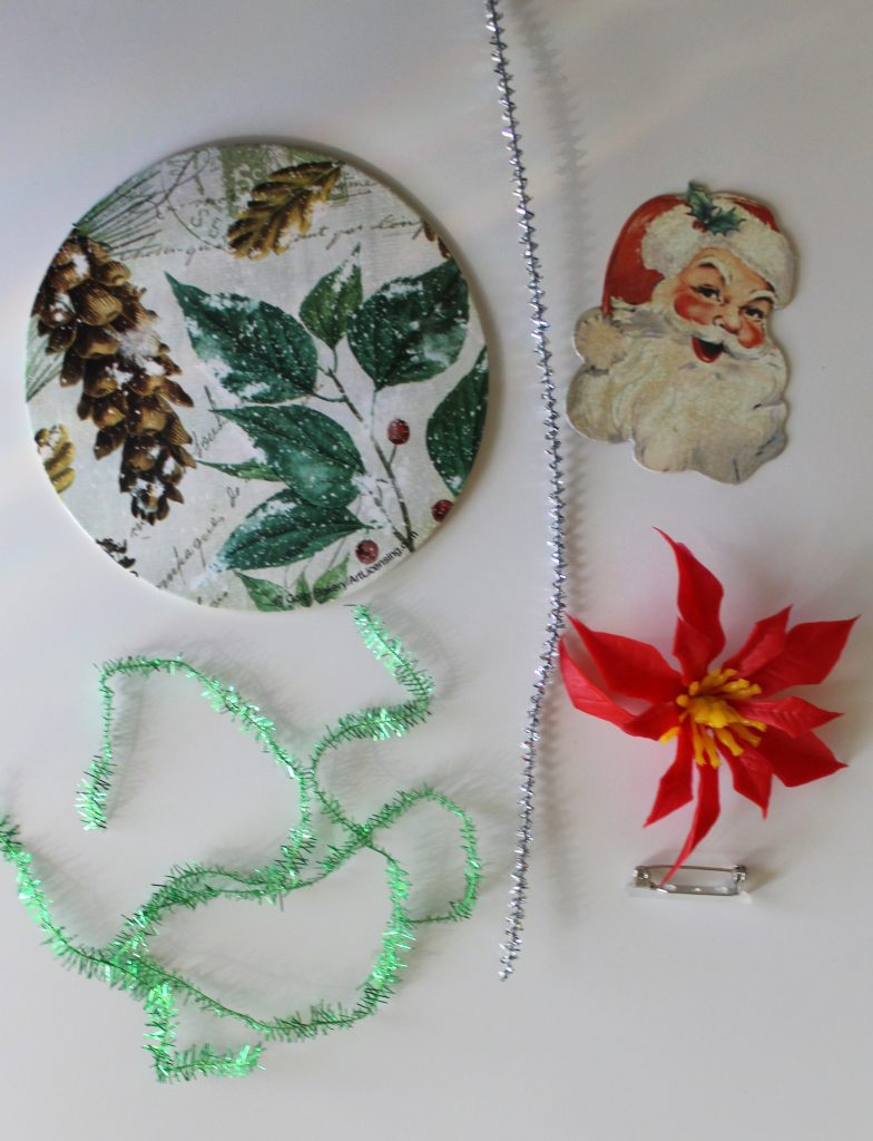 Christmas Corsage Supplies