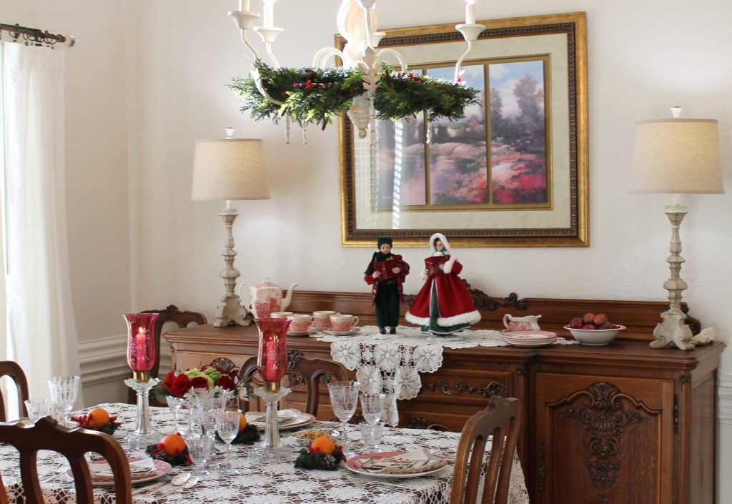 Decor To Adore Christmas Home Tour The Dining Area